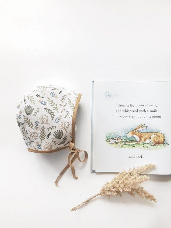 Botanic-linen-baby-bonnet-book