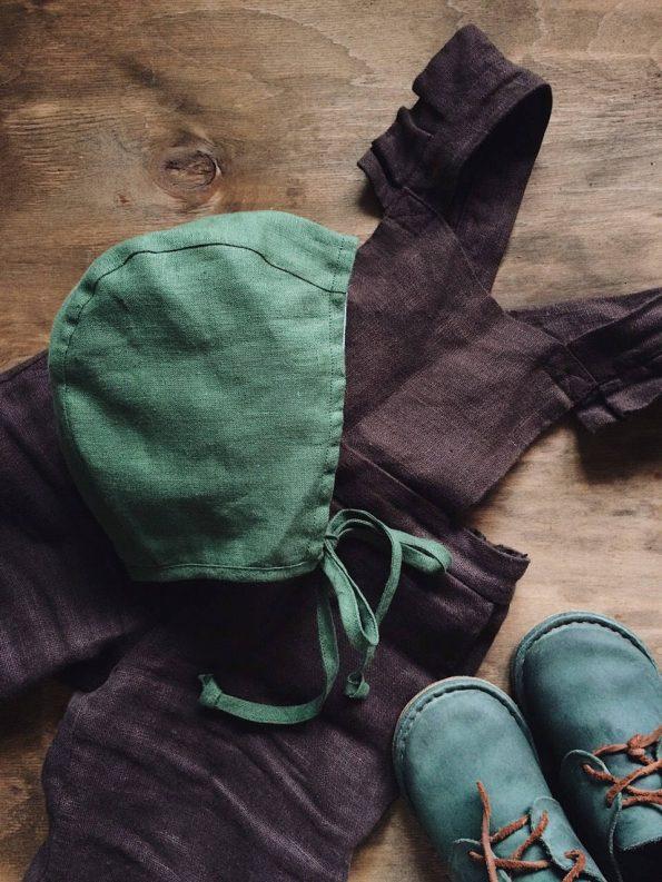 basil-linen-baby-bonnet-side