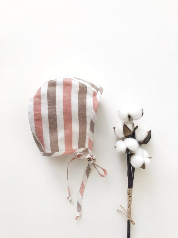 bay-stripe-linen-baby-bonnet