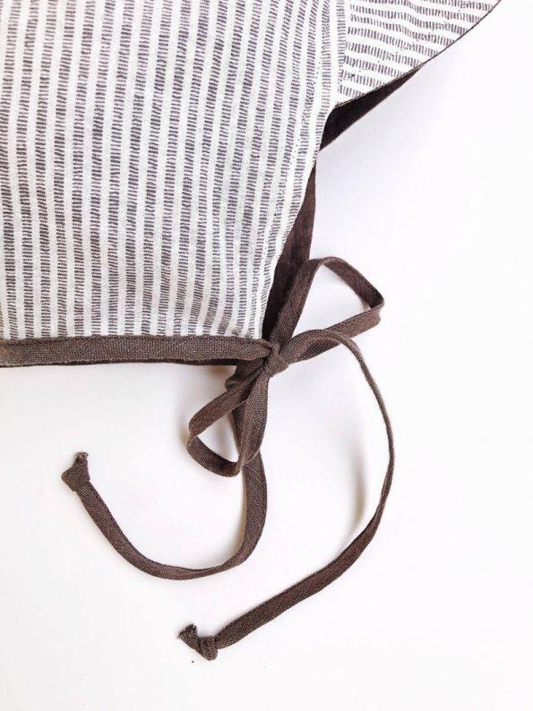 brimmed-taupe-linen-stripes-cotton-baby-bonnet-close