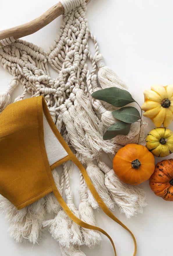mustard-linen-sherpa-lined-bonnet