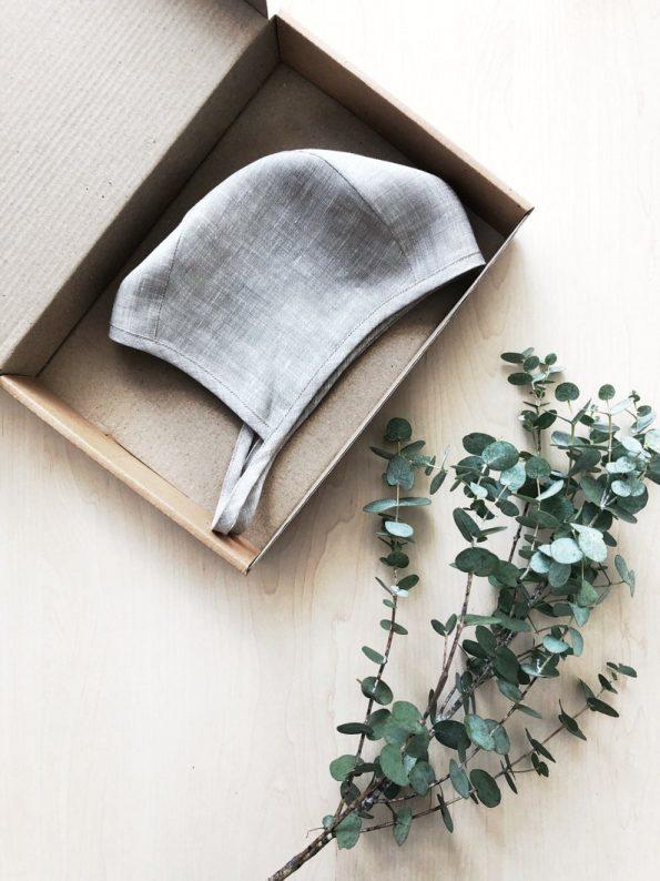 oats-melange-linen-baby-bonnet-package