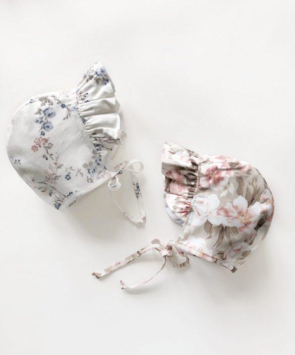 ruffle-brimmed-peonies-blossom-baby-bonnet-front